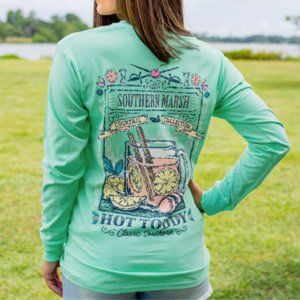 Southern Marsh Cocktail Collection Long Sleeve Tee